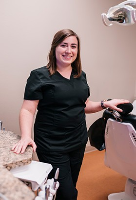 Registered dental hygienist Allison
